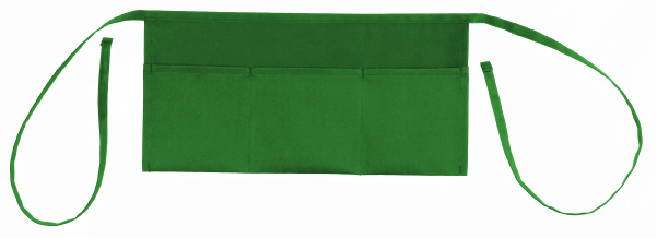 "Shop123go Grill 3 Pockets Waist Apron-20"" W x 10"" H, Kelly Green at Sears.com"