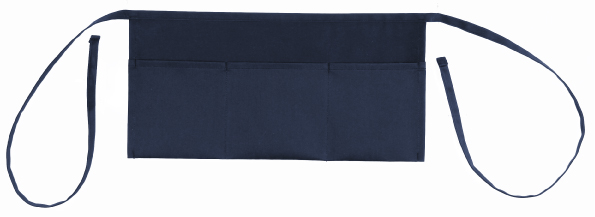 "Shop123go Grill 3 Pockets Waist Apron-20"" W x 10"" H, Navy at Sears.com"